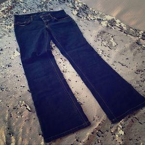 Loft Curvy Boot Cut Jeans
